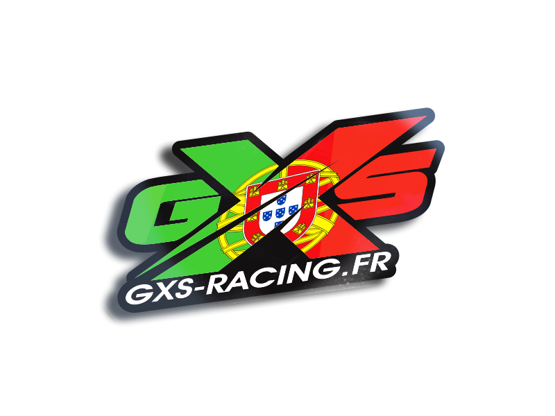 GXS RACING portugal Stickers