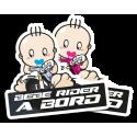 Autocollants bébés à bord Stickers