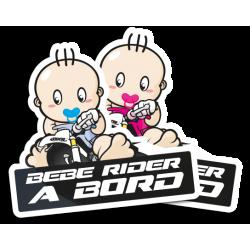Autocollants bébés à bord
