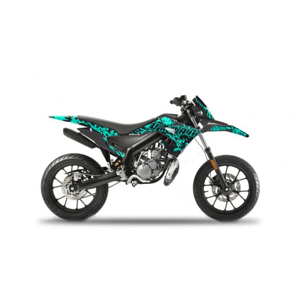 Kit Déco DERBI DRD RACING 2019-2021 URBAN CAMO Kit Déco Derbi / GILERA