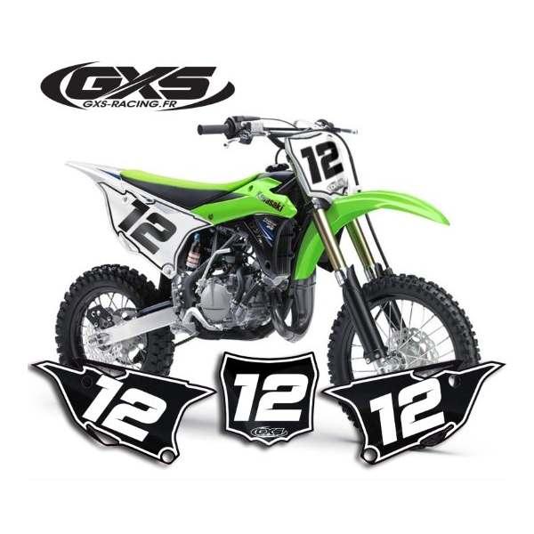 50cc 65cc 85cc Kit Déco Fonds de Plaque liseret