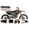 Kit déco Honda 250-450 CRF 2014 Factory Team Dash Kit Déco Honda Standard