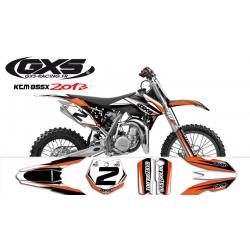 Kit Déco KTM 85 SX 2013-2014-2015 GXS