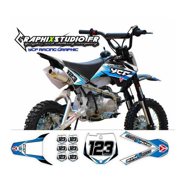 Kit Déco Pit-Bike YCF