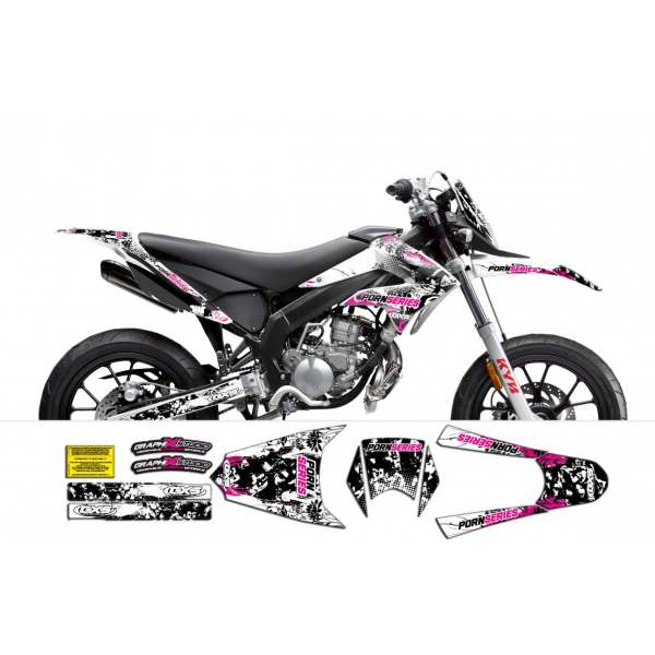 Kit Déco Derbi DRD X-Treme 2011-2013 / GILERA PORNSERIES 2013