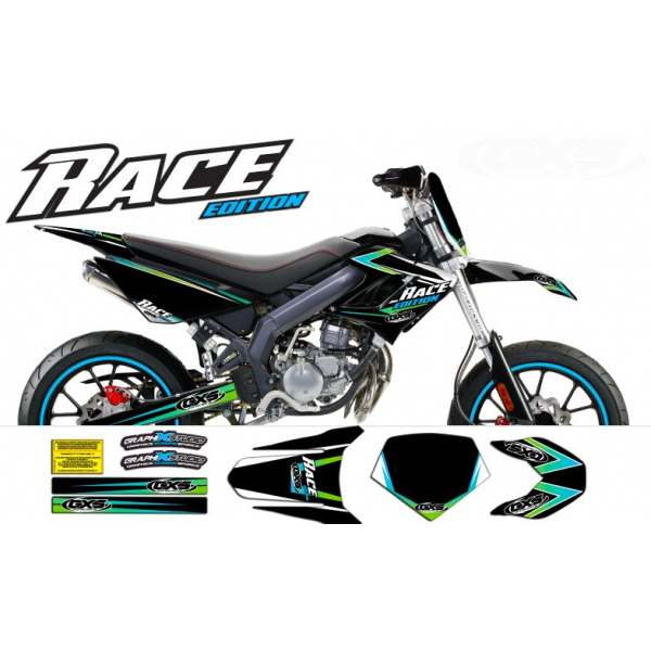 kit Déco Derbi Drd racing 2004-2009 RACE Edition