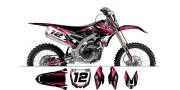 Kit déco Yamaha YZF250 450 2014 Factory Team Dash