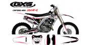 Kit déco Honda 250-450 CRF 2014 Trax