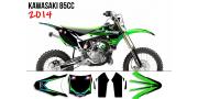 Kit déco Kawasaki 85 KX 2014