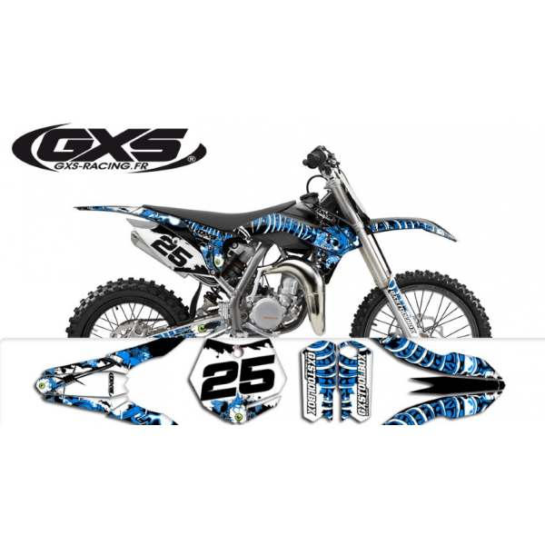 Kit Déco KTM 85 SX 2013-2014-2015 SURRENDER