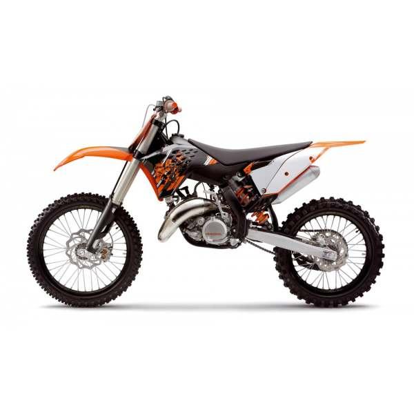 Kit Déco 100% Perso KTM SX/SXF 2007-2010