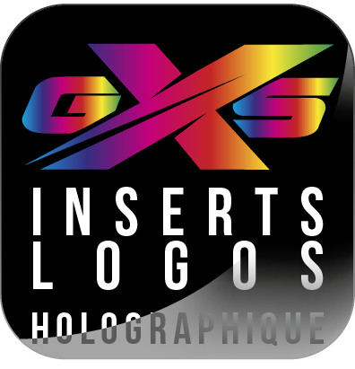 Inserts logos Holographiques